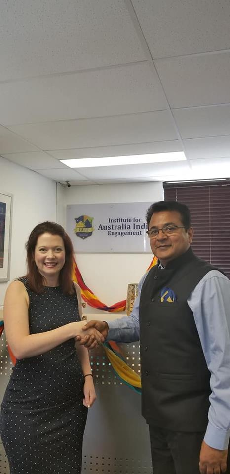 Interaction with Queensland Member of Parliamant Jessca Pugh